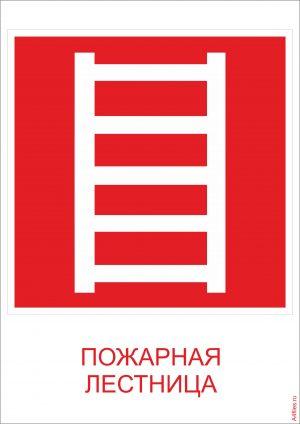 """""""Пожарная лестница"""" формат А4"""