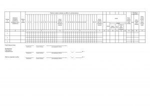 Табель учета рабочего времени (Форма Т-12) - Страница 2
