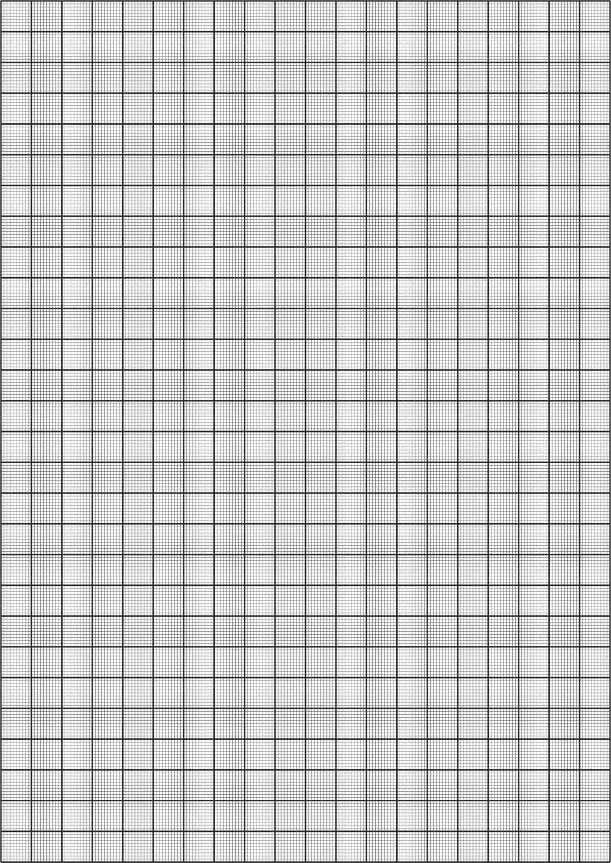 Миллиметровка формата А4