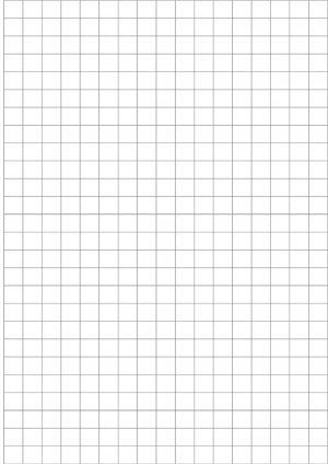 Лист в клетку крупную распечатать на А4 листе