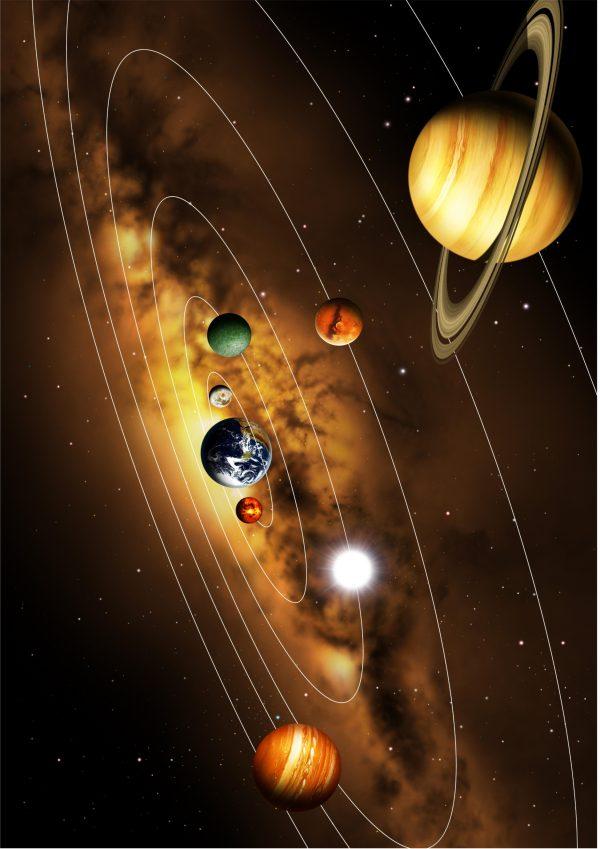 Картинка солнечная системы скачать