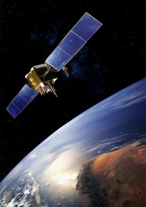 Картинка спутника над землей скачать