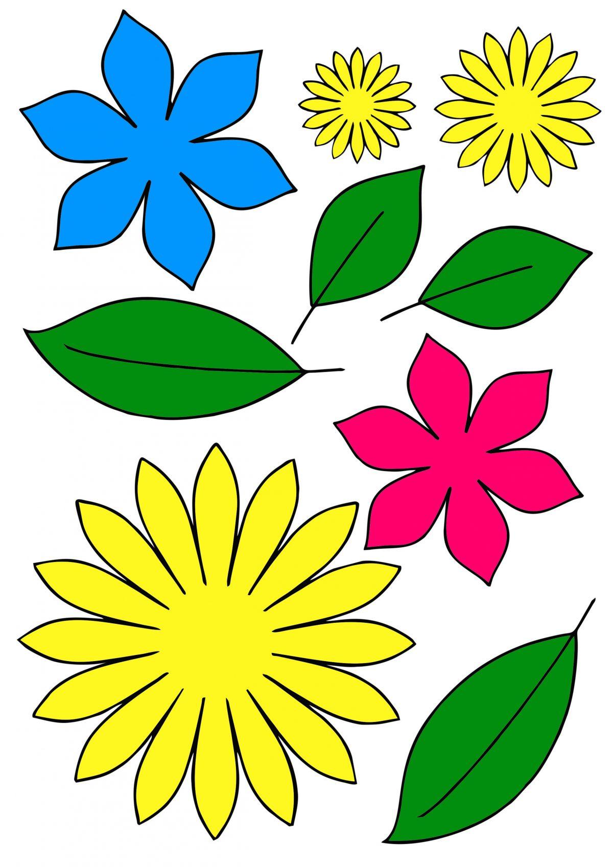 Цветы для вырезания скачать